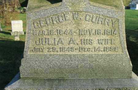 CROWELL CURRY, JULIA A. - Vinton County, Ohio | JULIA A. CROWELL CURRY - Ohio Gravestone Photos