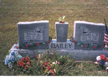 DAILEY, PHYLLIS A. - Vinton County, Ohio | PHYLLIS A. DAILEY - Ohio Gravestone Photos