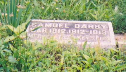 DARBY, SAMUEL (MILITARY STONE) - Vinton County, Ohio | SAMUEL (MILITARY STONE) DARBY - Ohio Gravestone Photos