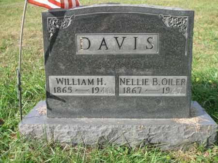 OILER DAVIS, NELLIE B - Vinton County, Ohio | NELLIE B OILER DAVIS - Ohio Gravestone Photos