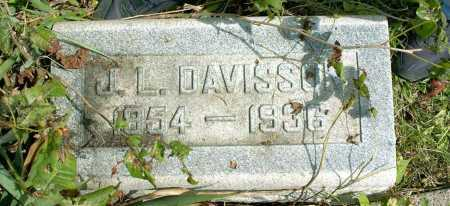 DAVISSON, JAMES LOWRY - Vinton County, Ohio | JAMES LOWRY DAVISSON - Ohio Gravestone Photos