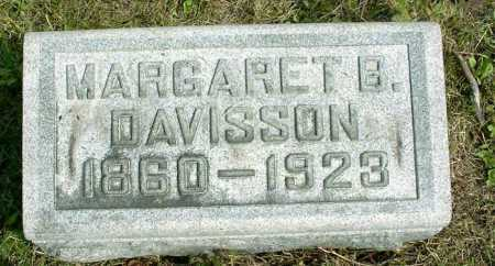 DAVISSON, MARGARET BELLE - Vinton County, Ohio | MARGARET BELLE DAVISSON - Ohio Gravestone Photos