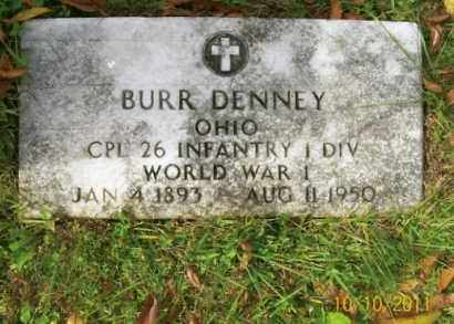 DENNEY, BURR - Vinton County, Ohio | BURR DENNEY - Ohio Gravestone Photos