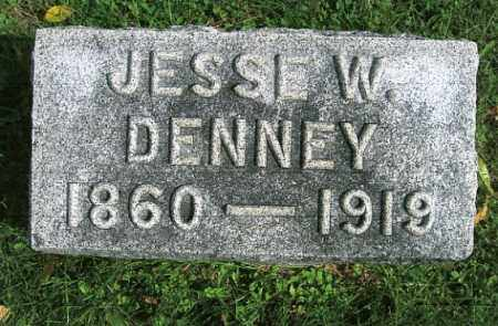DENNEY, JESSE W. - Vinton County, Ohio | JESSE W. DENNEY - Ohio Gravestone Photos