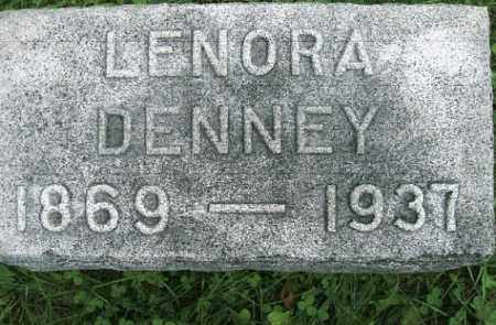 DENNEY, LENORA - Vinton County, Ohio | LENORA DENNEY - Ohio Gravestone Photos