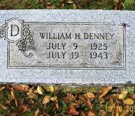 DENNEY, WILLIAM H. - Vinton County, Ohio | WILLIAM H. DENNEY - Ohio Gravestone Photos