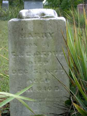 DEPUE, HARRY - Vinton County, Ohio | HARRY DEPUE - Ohio Gravestone Photos