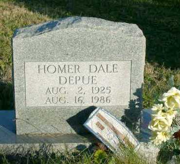 DEPUE, HOMER DALE - Vinton County, Ohio | HOMER DALE DEPUE - Ohio Gravestone Photos