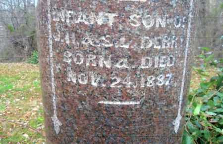DERRY, INFANT SON - Vinton County, Ohio | INFANT SON DERRY - Ohio Gravestone Photos