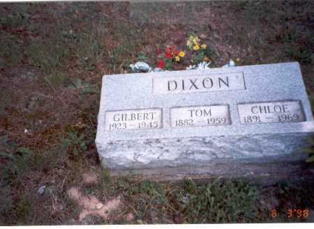 DIXON, GILBERT - Vinton County, Ohio | GILBERT DIXON - Ohio Gravestone Photos