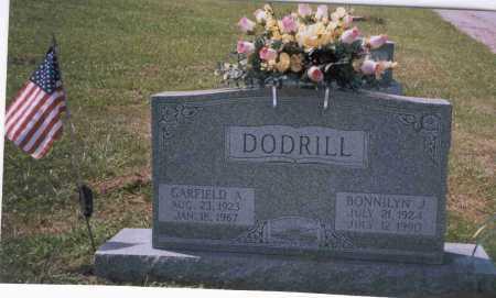 DODRILL, GARFIELD A. - Vinton County, Ohio | GARFIELD A. DODRILL - Ohio Gravestone Photos