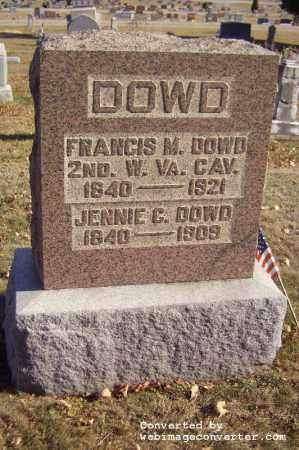 BRINE DOWD, JENNIE C - Vinton County, Ohio | JENNIE C BRINE DOWD - Ohio Gravestone Photos