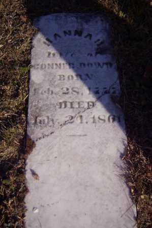 GRAVES DOWD, HANNAH - Vinton County, Ohio | HANNAH GRAVES DOWD - Ohio Gravestone Photos
