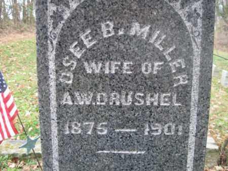 DRUSHEL, OSEE BELLE - Vinton County, Ohio | OSEE BELLE DRUSHEL - Ohio Gravestone Photos