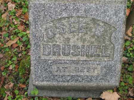 DRUSHEL,, OSEE BELLE - Vinton County, Ohio | OSEE BELLE DRUSHEL, - Ohio Gravestone Photos