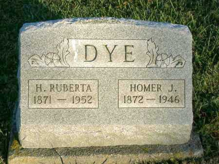 DYE, HOMER J. - Vinton County, Ohio | HOMER J. DYE - Ohio Gravestone Photos