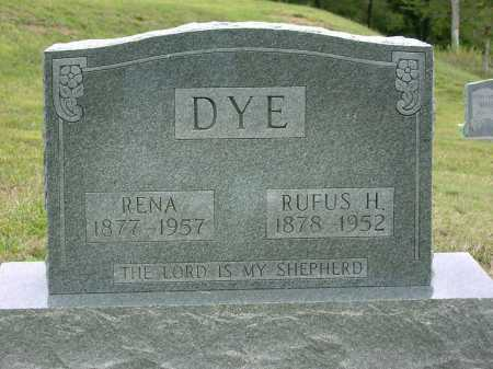 DYE, RUFAS HARRY - Vinton County, Ohio | RUFAS HARRY DYE - Ohio Gravestone Photos