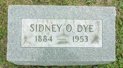 DYE, SIDNEY OGIER - Vinton County, Ohio | SIDNEY OGIER DYE - Ohio Gravestone Photos