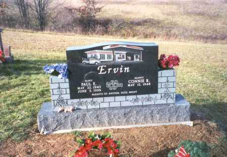 ERVIN, PAUL E. - Vinton County, Ohio | PAUL E. ERVIN - Ohio Gravestone Photos