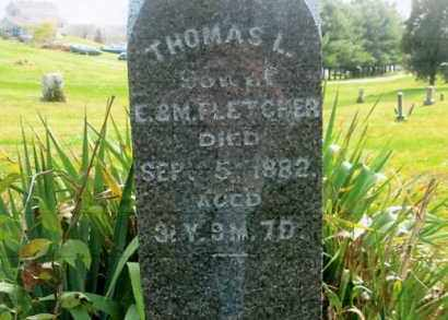 FLETCHER, THOMAS L. - Vinton County, Ohio | THOMAS L. FLETCHER - Ohio Gravestone Photos