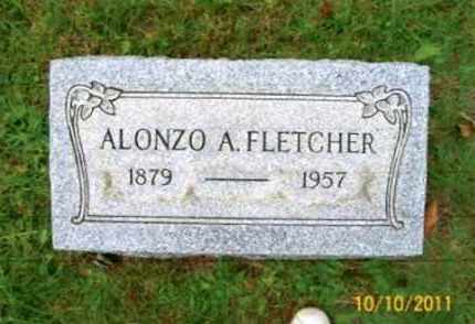 FLETCHER, ALONZO A. - Vinton County, Ohio | ALONZO A. FLETCHER - Ohio Gravestone Photos