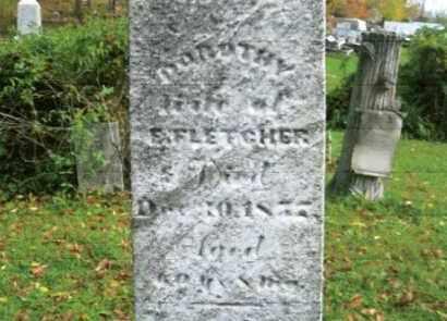 FLETCHER, DOROTHY - Vinton County, Ohio | DOROTHY FLETCHER - Ohio Gravestone Photos