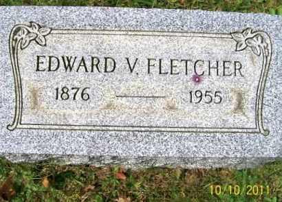 FLETCHER, EDWARD - Vinton County, Ohio | EDWARD FLETCHER - Ohio Gravestone Photos