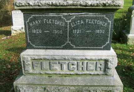 FLETCHER, ELIZA - Vinton County, Ohio | ELIZA FLETCHER - Ohio Gravestone Photos