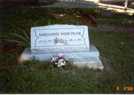 WOOD FRANK, MARGUERITE - Vinton County, Ohio | MARGUERITE WOOD FRANK - Ohio Gravestone Photos