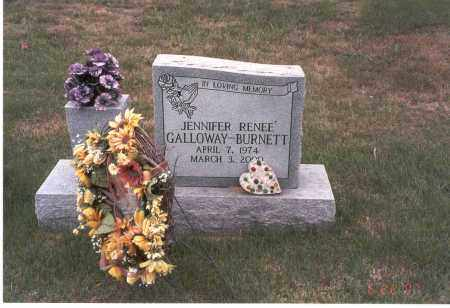 GALLOWAY-BURNETT, JENNIFER RENEE' - Vinton County, Ohio | JENNIFER RENEE' GALLOWAY-BURNETT - Ohio Gravestone Photos
