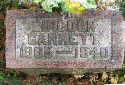 GARRETT, LINCOLN - Vinton County, Ohio | LINCOLN GARRETT - Ohio Gravestone Photos