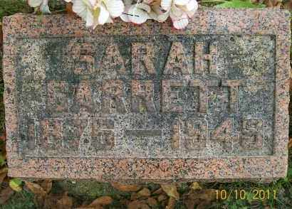 GARRETT, SARAH - Vinton County, Ohio | SARAH GARRETT - Ohio Gravestone Photos