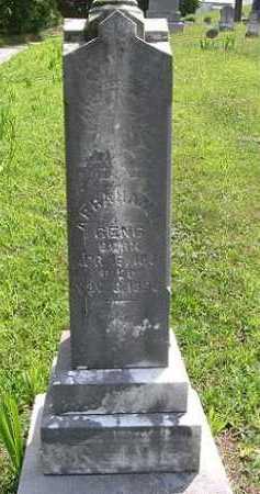 GENG, ABRAHAM - Vinton County, Ohio | ABRAHAM GENG - Ohio Gravestone Photos