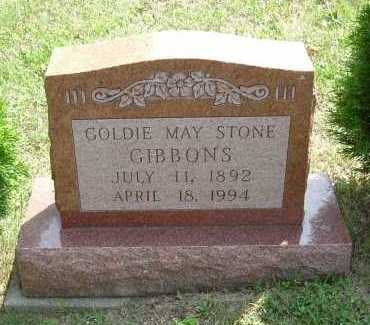 GIBBONS, GOLDIE MAY - Vinton County, Ohio | GOLDIE MAY GIBBONS - Ohio Gravestone Photos
