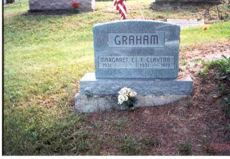 GRAHAM, E. CLAYTON - Vinton County, Ohio | E. CLAYTON GRAHAM - Ohio Gravestone Photos