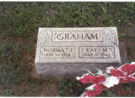 GRAHAM, NORMA J. - Vinton County, Ohio | NORMA J. GRAHAM - Ohio Gravestone Photos