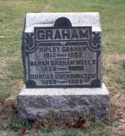 GRAHAM, SARAH - Vinton County, Ohio | SARAH GRAHAM - Ohio Gravestone Photos