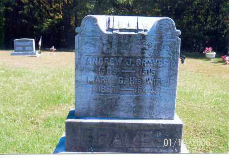 GRAVES, ANDREW J. - Vinton County, Ohio | ANDREW J. GRAVES - Ohio Gravestone Photos