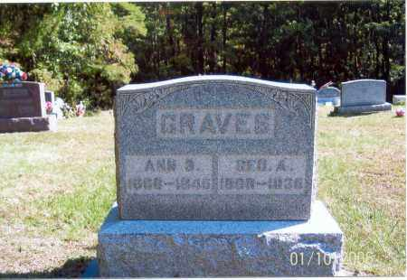 GRAVES, GEO. A. - Vinton County, Ohio | GEO. A. GRAVES - Ohio Gravestone Photos