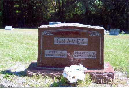 GRAVES, PEARLEY W. - Vinton County, Ohio | PEARLEY W. GRAVES - Ohio Gravestone Photos