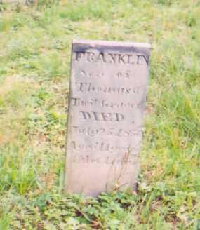 GRAVES, FRANKLIN - Vinton County, Ohio | FRANKLIN GRAVES - Ohio Gravestone Photos
