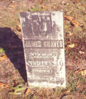 GRAVES, JAMES - Vinton County, Ohio | JAMES GRAVES - Ohio Gravestone Photos