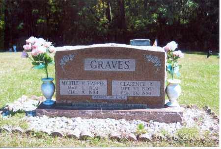 GRAVES, CLARENCE R. - Vinton County, Ohio | CLARENCE R. GRAVES - Ohio Gravestone Photos