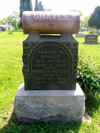 ZIEGLER, REBECCA - Vinton County, Ohio | REBECCA ZIEGLER - Ohio Gravestone Photos