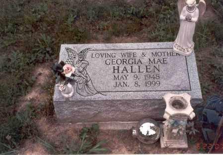 HALLEN, GEORGIA MAE - Vinton County, Ohio | GEORGIA MAE HALLEN - Ohio Gravestone Photos