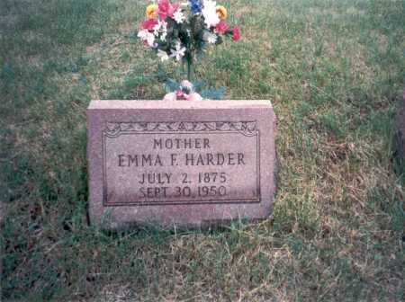 FITZPATRICK HARDER, EMMA - Vinton County, Ohio | EMMA FITZPATRICK HARDER - Ohio Gravestone Photos
