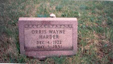 HARDER, ORRIS - Vinton County, Ohio | ORRIS HARDER - Ohio Gravestone Photos