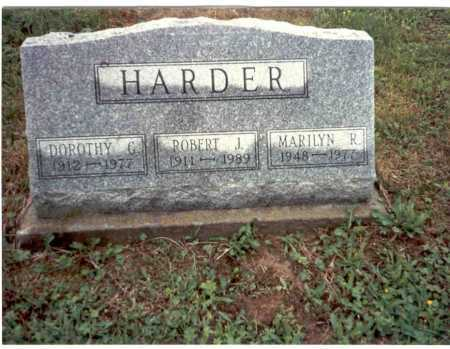GALLAGHER HARDER, DOROTHY - Vinton County, Ohio | DOROTHY GALLAGHER HARDER - Ohio Gravestone Photos