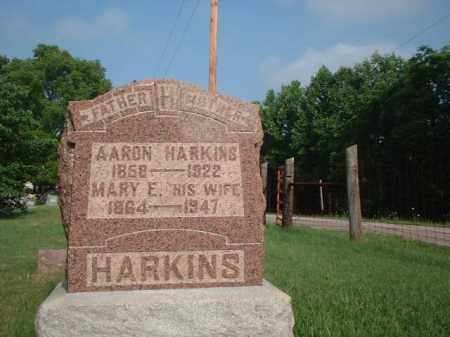 HUSTON HARKINS, MARY E. - Vinton County, Ohio | MARY E. HUSTON HARKINS - Ohio Gravestone Photos