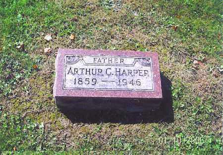 HARPER, ARTHUR C. - Vinton County, Ohio | ARTHUR C. HARPER - Ohio Gravestone Photos